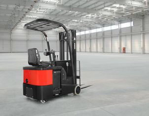 Chiny Akumulator AC Reach Truck Electric Lift Truck 24V Stand On 1 Ton - 2 Ton dostawca