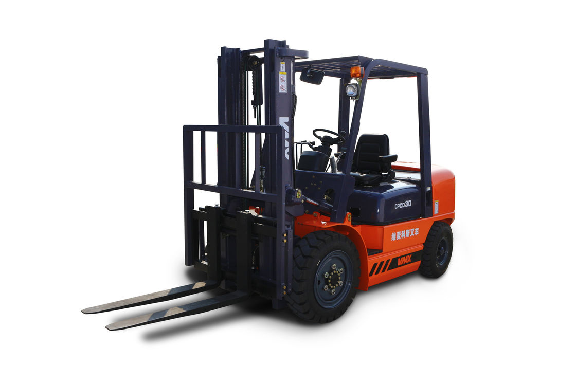 Vmax 4.5t Diesel Engine Forklift Truck Warehouse Lifting Equipment 4500kg