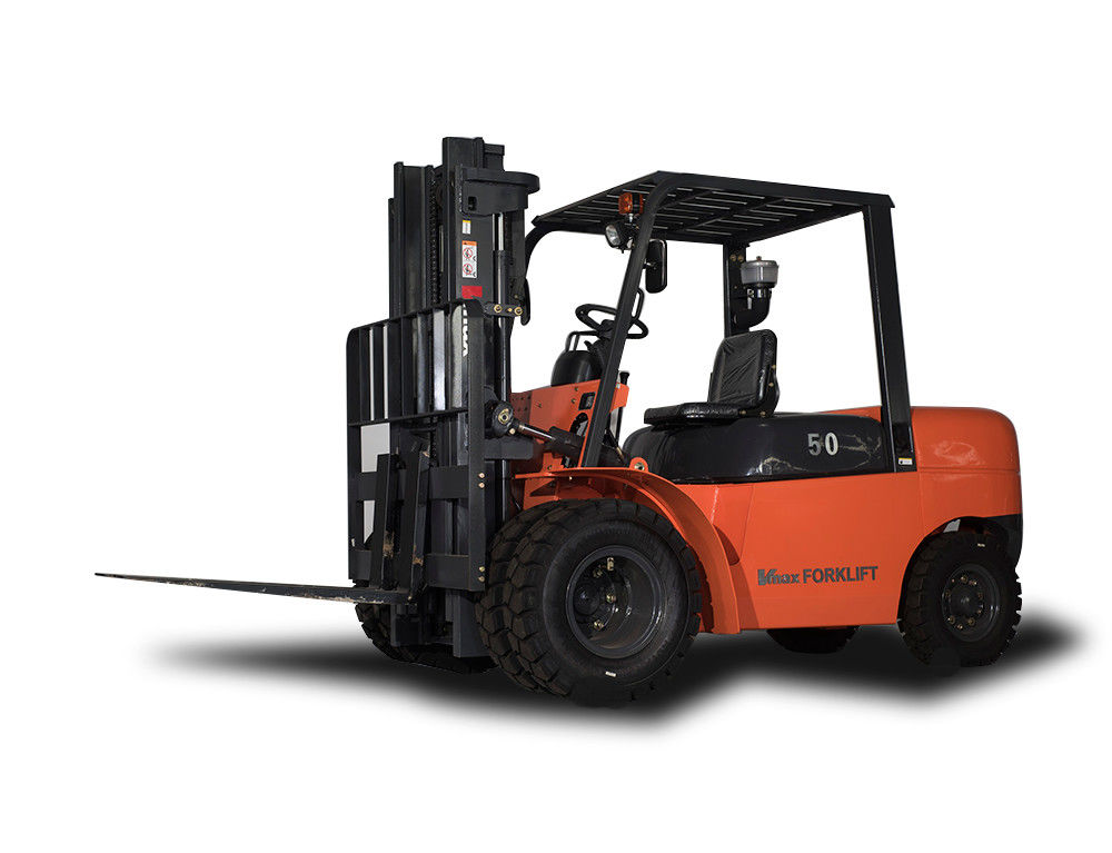 7 Ton Lightweight Diesel Powered Forklift Hoist Lift Truck No Oil Leakage
