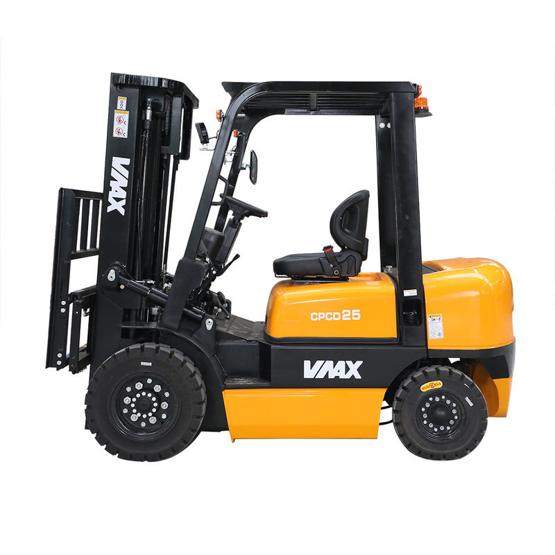 6000mm Lifting 2.5t Solid Tire Diesel Powered Forklift