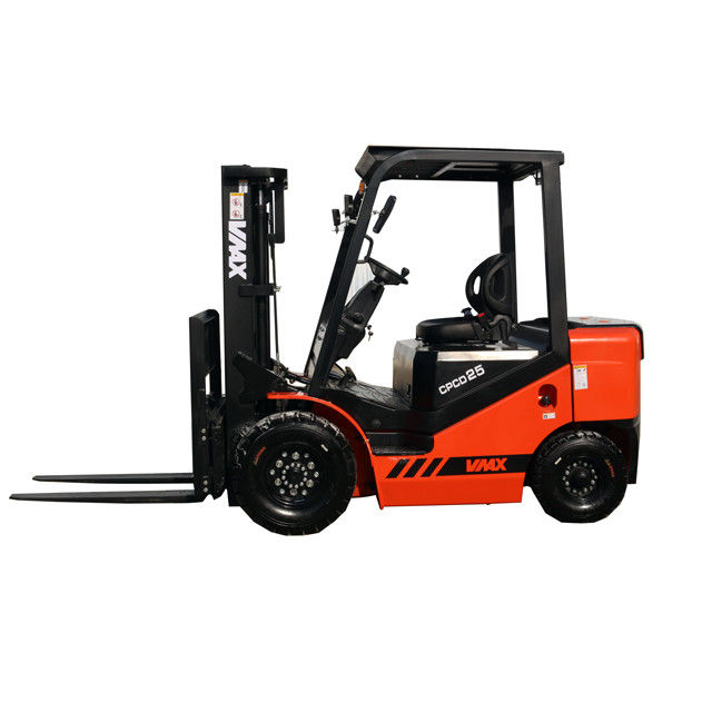 52L Fuel 4 Cylinder 2.5 Ton Diesel Operated Forklift